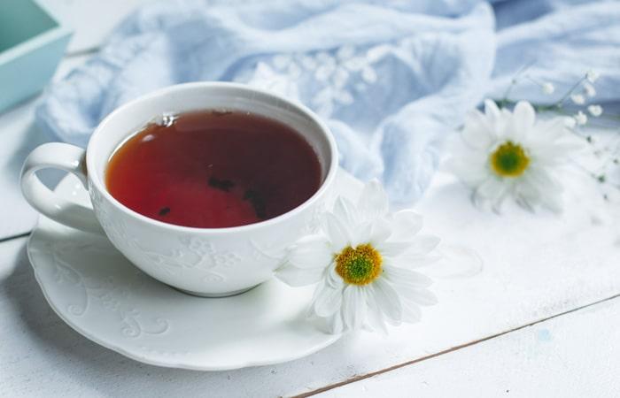 چای سیاه برای مو