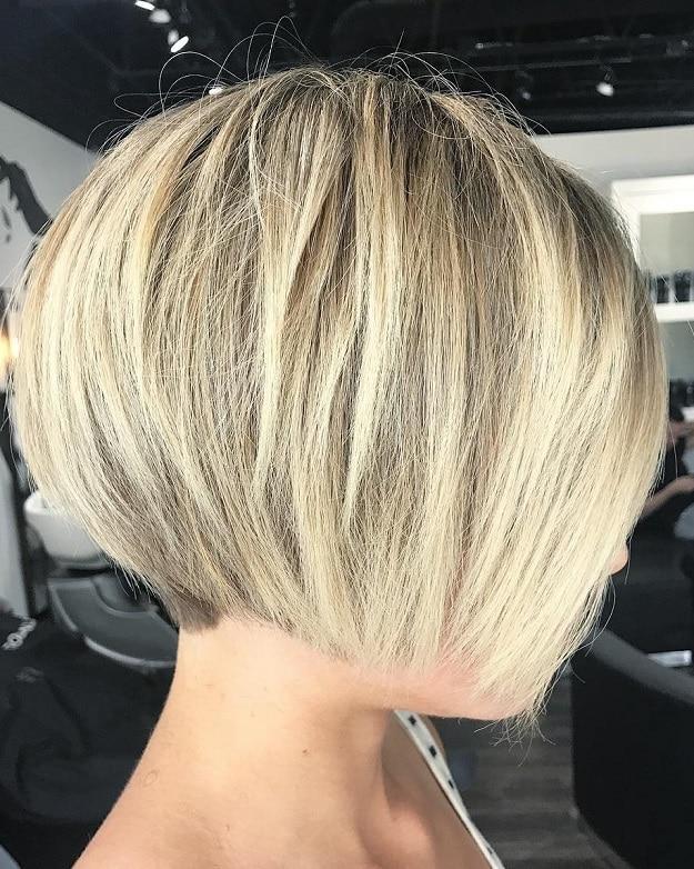 موی کوتاه دخترانه باب کوتاه