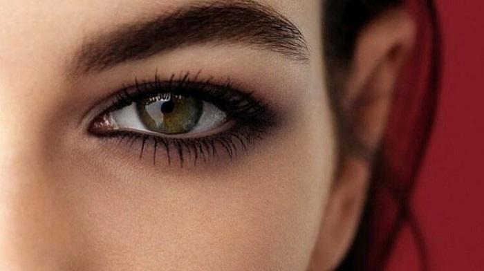 آرایش چشم عسلی
