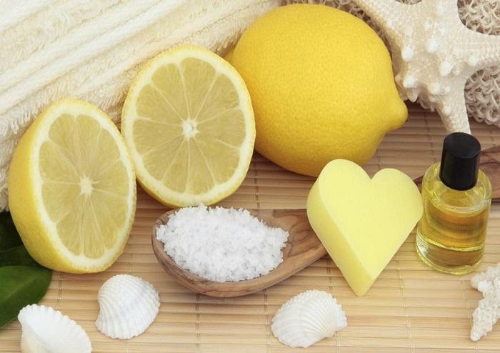 آب لیمو برای ترک پوستی
