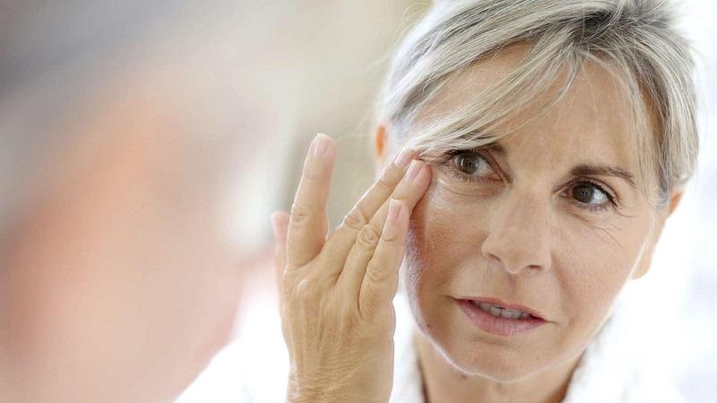 افزایش سن علت سیاهی زیر چشم