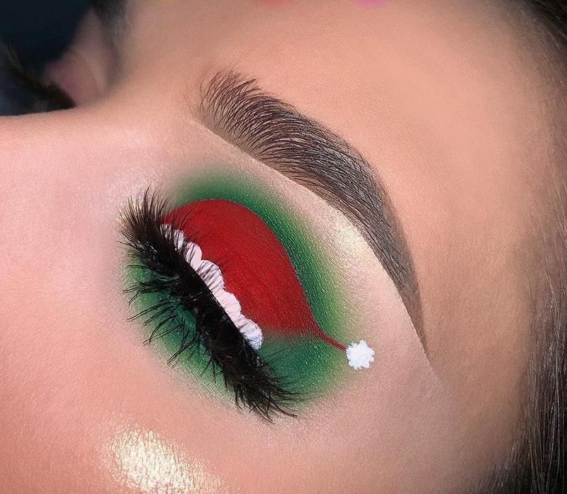 آرایش کریسمس به کمک کلاه بابانوئل