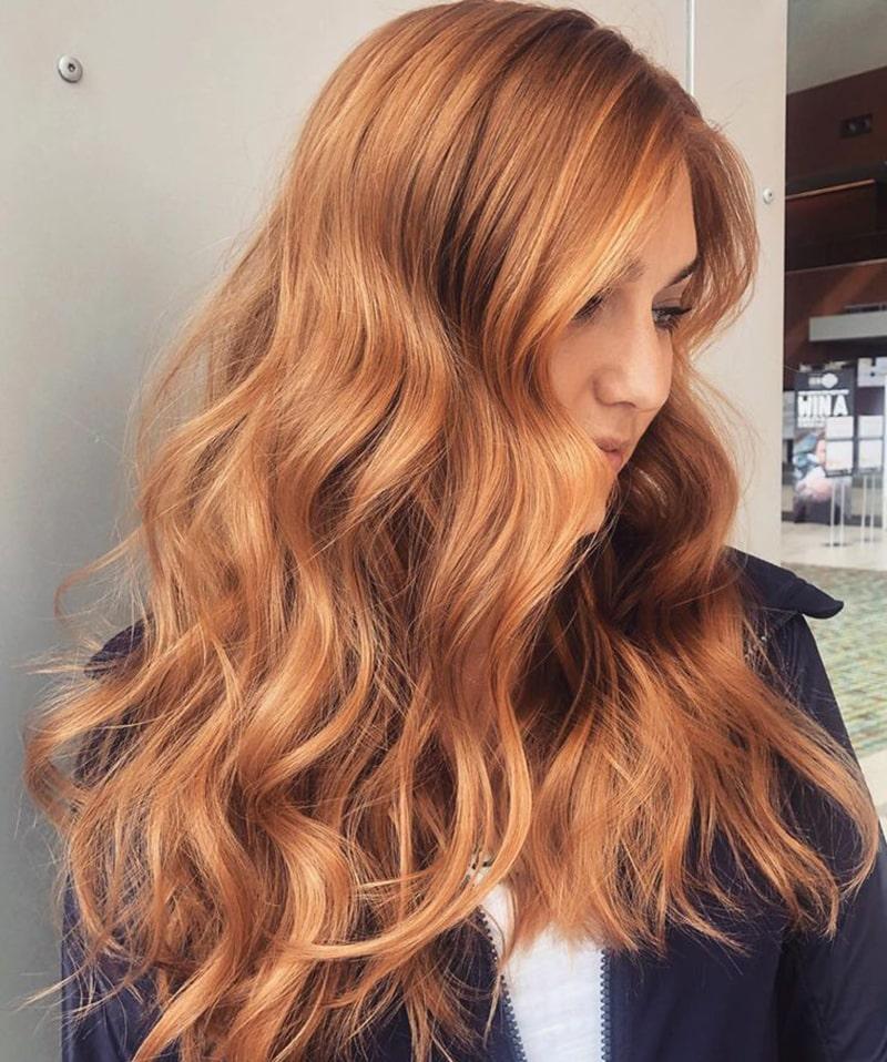 ترند رنگ موی فصل زمستان