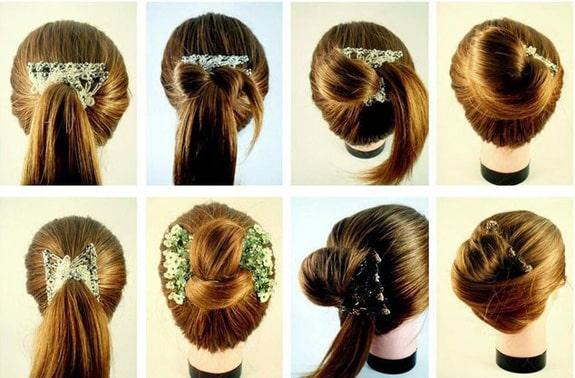 چند مدل مو با شانه جادویی
