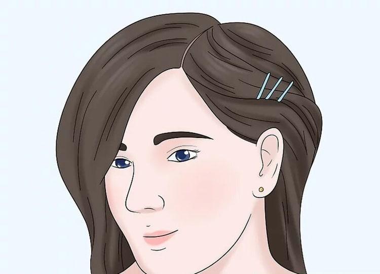 آرایش مو با سنجاق