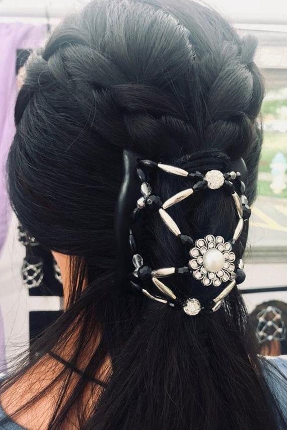 مدل موی شیک با شانه جادویی