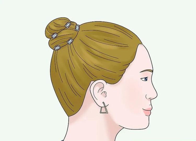 آرایش مو با کلیپس