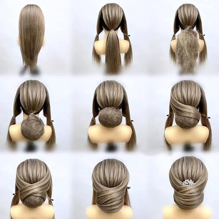 آموزش دیزاین مو