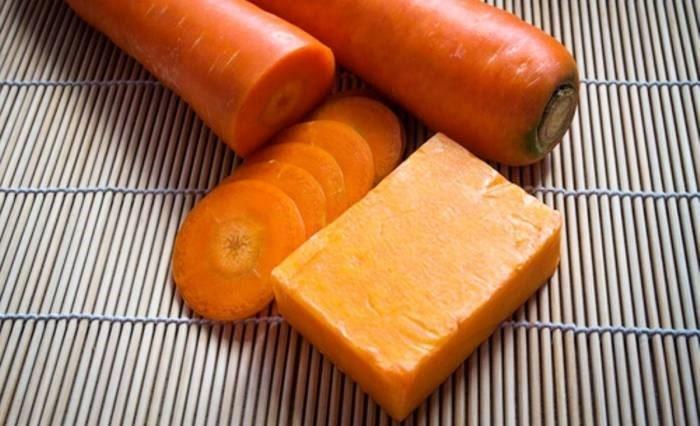 صابون خانگی هویج