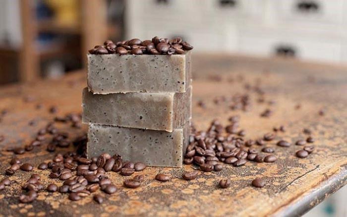 صابون با عصاره قهوه