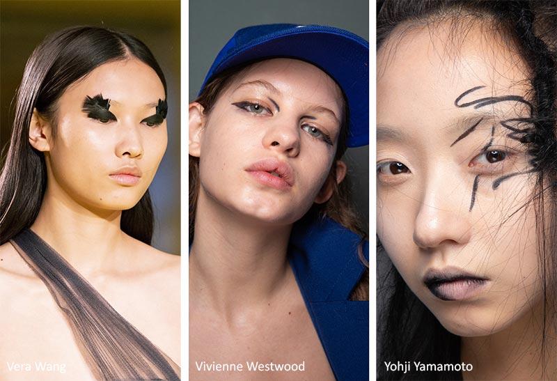 مدل آرایش صورت هنری