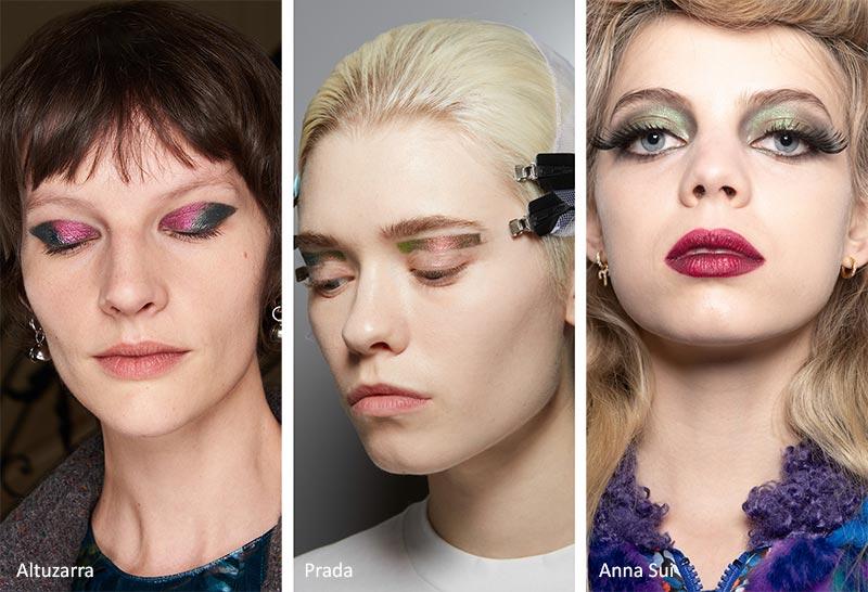 مدل آرایش چشم جواهری