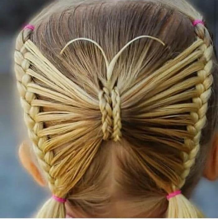بافت موی کودکانه
