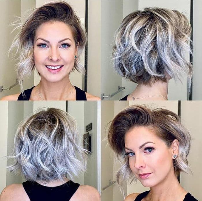 مدل موی خاص کوتاه