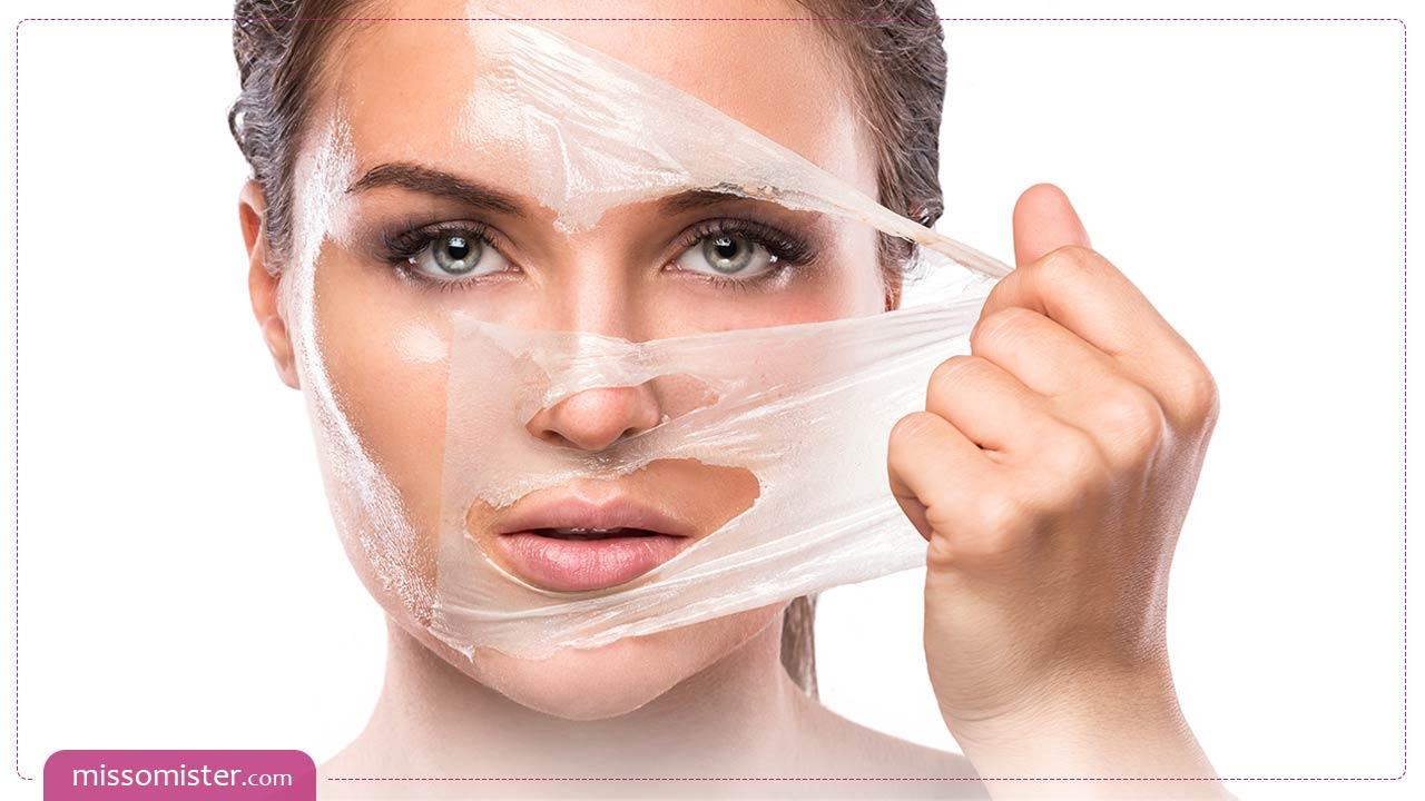 بهترین روش های لایه برداری پوست صورت در منزل