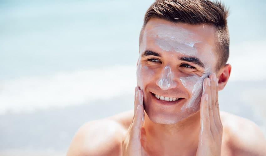محصولات ضد آفتاب مراقبت از پوست آقایان