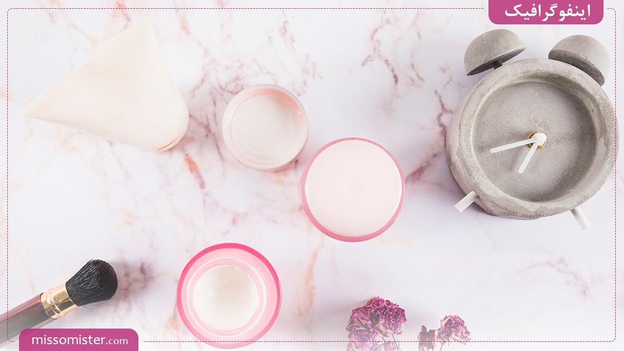 محصولات آرایشی تا کی قابل مصرف هستند؟ – [اینفوگرافیک]