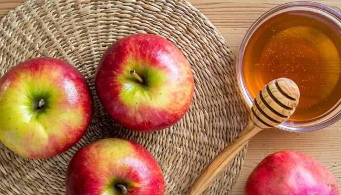 ماسک سیب و عسل