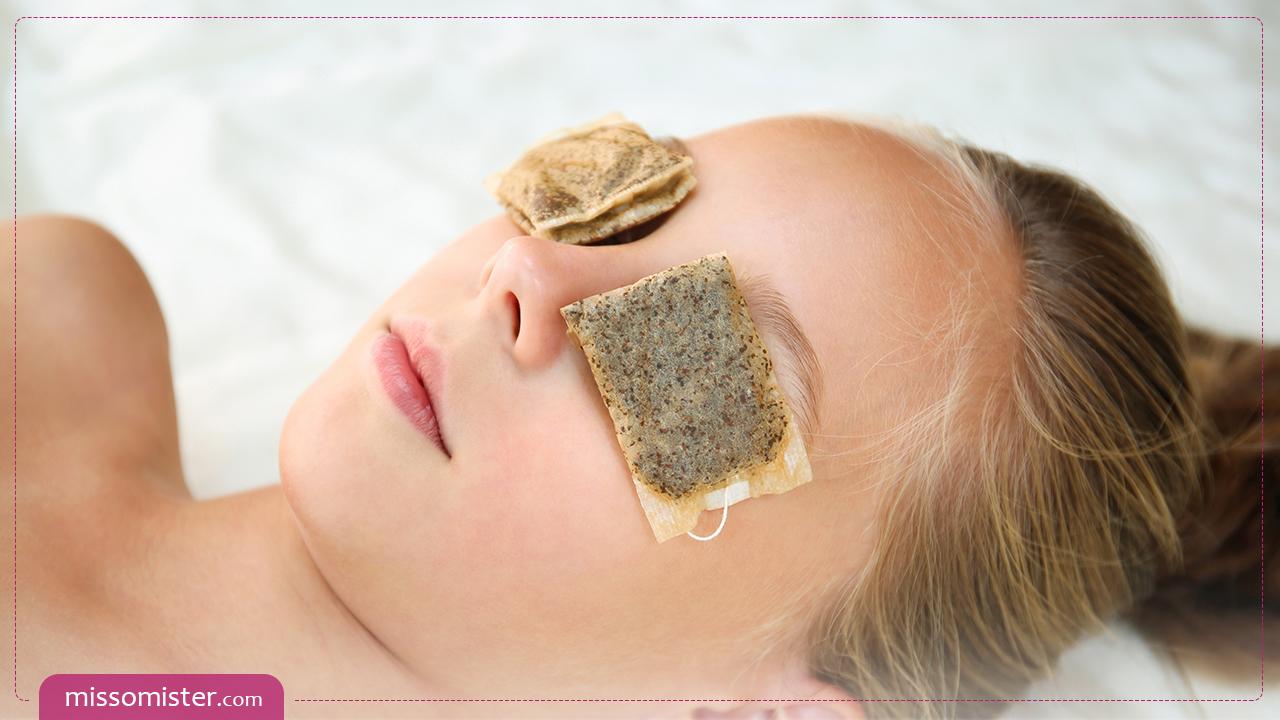 آموزش استفاده از چای کیسه ای برای دور چشم متناسب با نیاز پوست شما