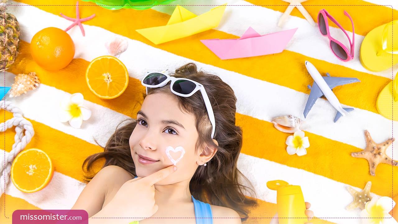 آشنایی با برخی از انواع بهترین ضد آفتاب کودکان ایرانی و خارجی موجود در بازار