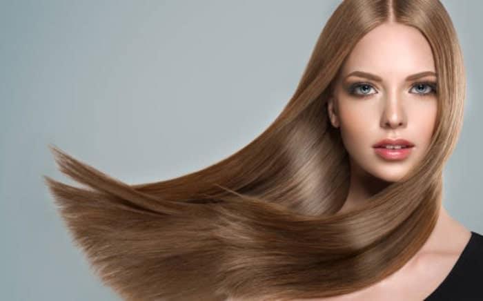 صاف کردن مو با سشوار