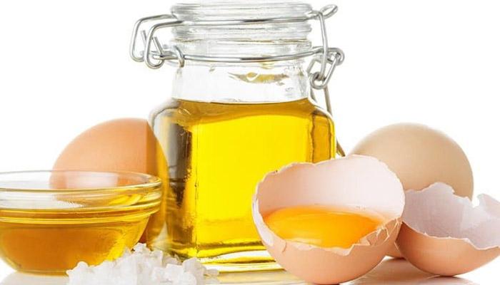 روغن زیتون و تخم مرغ برای آبرسانی مو