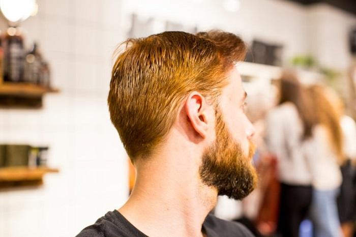 رنگ مو طبیعی حنایی آقایان