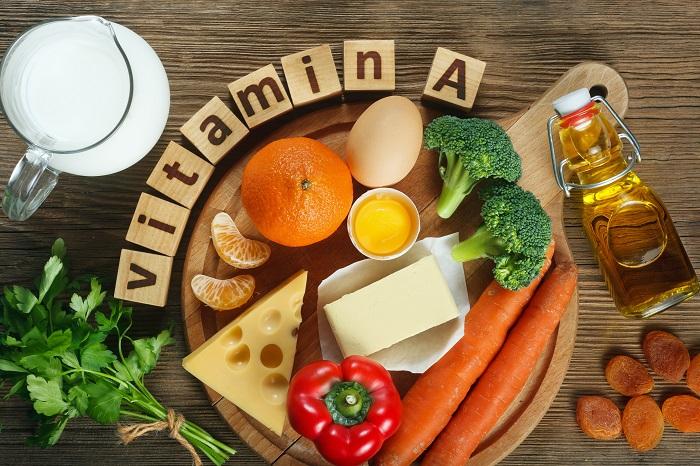 ویتامین آ ویتامینی باعث ترک پا