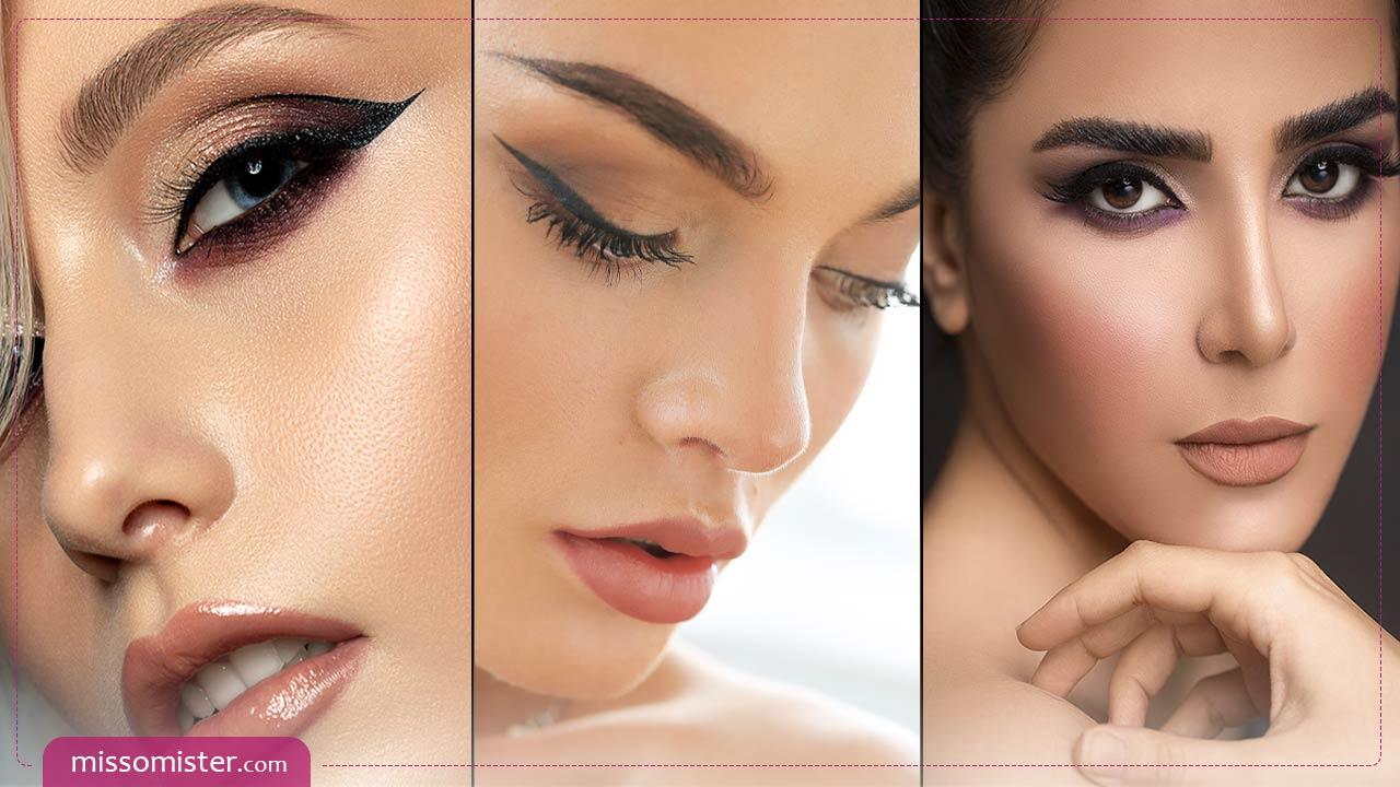 آموزش تصویری و حرفه ای آرایش مدلهای مختلف چشم