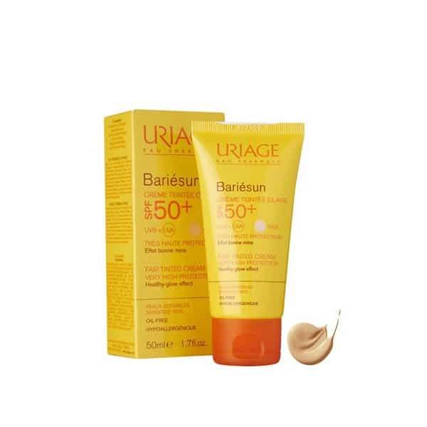 کرم ضد آفتاب اوریاژ مدل Bariesun Light؛ بهترین ضد آفتاب رنگی برای پوست حساس