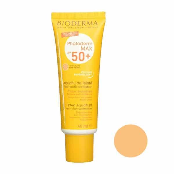 کرم ضد آفتاب رنگی بایودرما مدل Photoderm Max