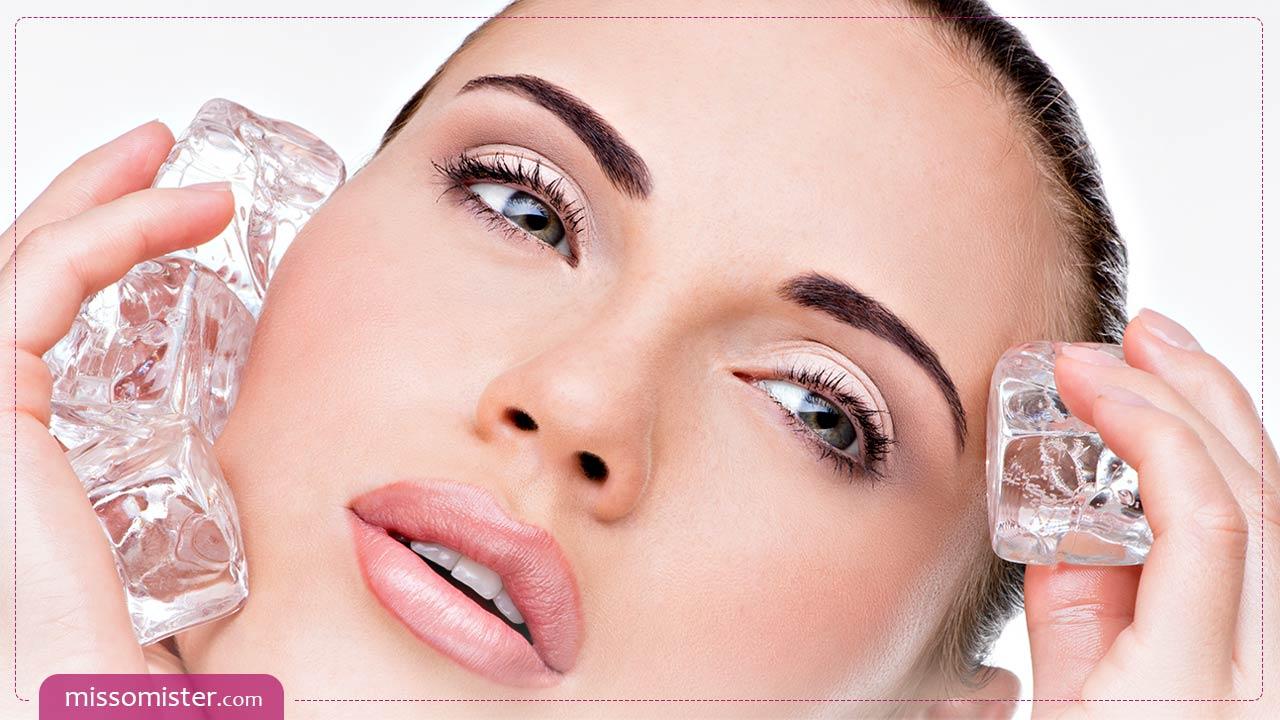 درمان جوش با یخ ؛ روشی ساده با نتیجه ای باورنکردنی برای پوست