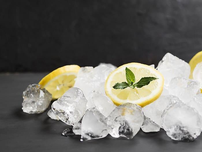 ماسک یخی لیمو