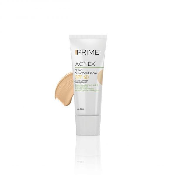 ضد آفتاب رنگی پریم با SPF60؛ بهترین کرم ضد آفتاب رنگی برای پوست چرب