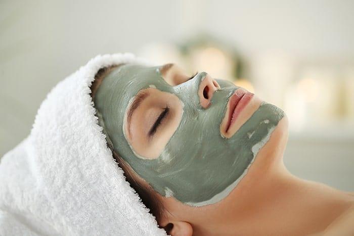 فواید ماسک خاک رس سبز برای صورت