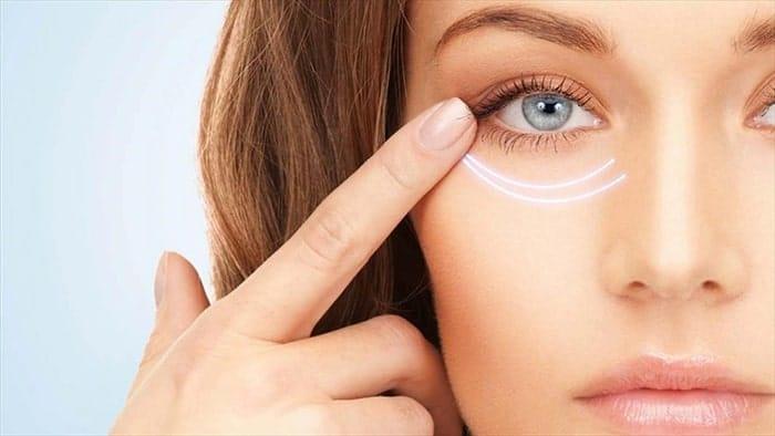 پوست زیر چشم