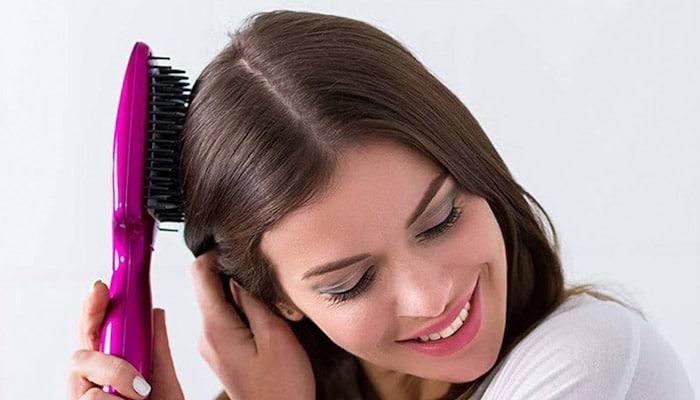 آسیب رسانی کمتر برس حرارتی به موها