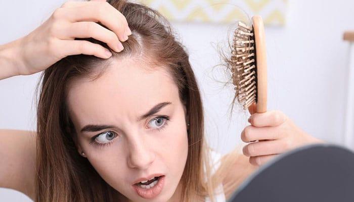 تاثیر استرس بر ریزش مو