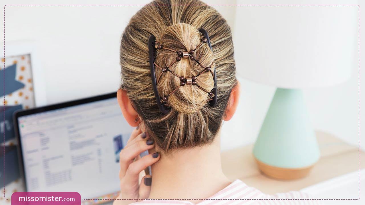 آموزش تصویری چند مدل موی شیک با استفاده از شانه جادویی