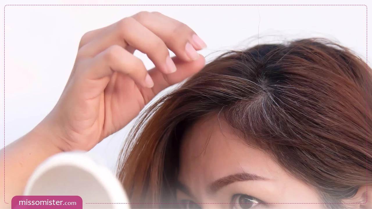 علت زود سفید شدن مو چیست و چه راه درمانی دارد؟