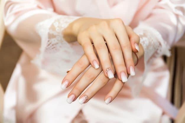مدل آمبره برای طراحی ناخن عروس