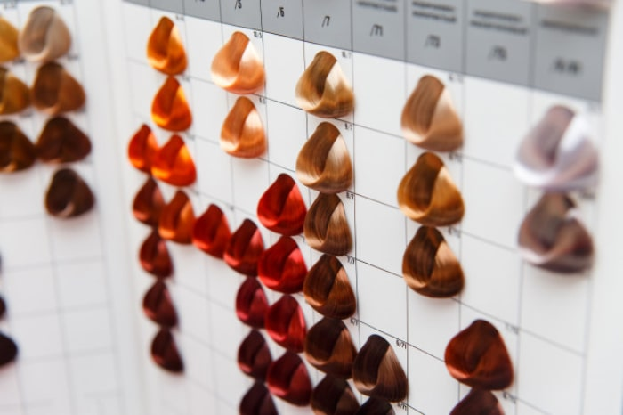 آموزش کاتالوگ خوانی رنگ مو