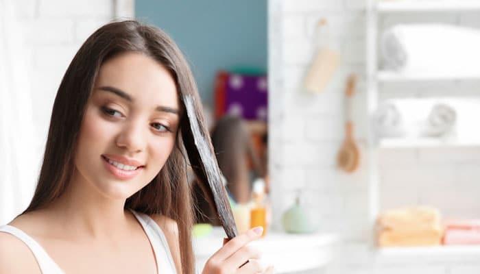 روغن نارگیل برای درمان خشکی مو