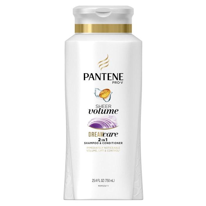 بهترین شامپو برای موهای کم حجم: شامپو ویتامینه پنتن