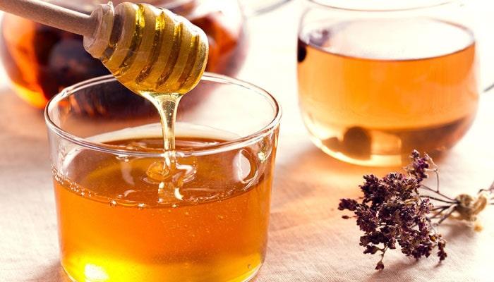 درمان اگزما لب با عسل