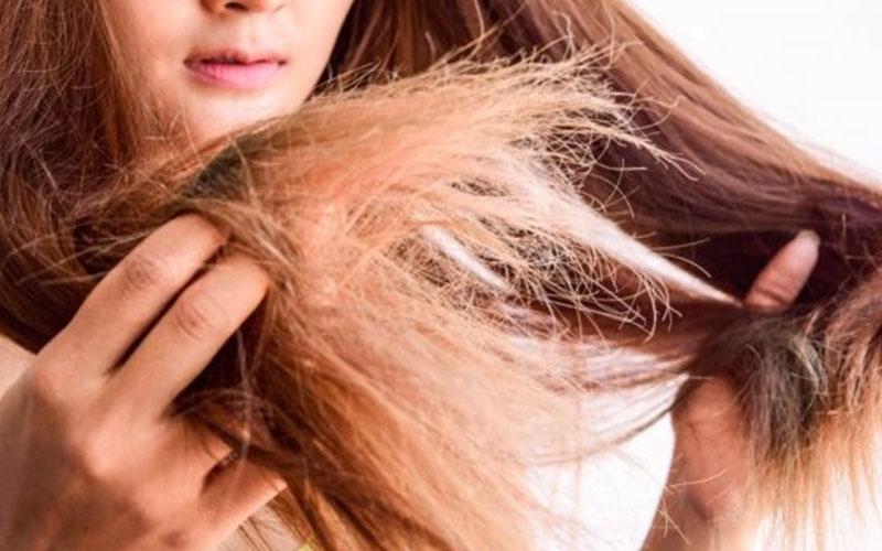موهای خشک و شکننده