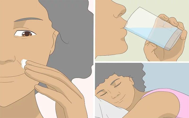 چگونه پوست شل صورت را سفت کنیم