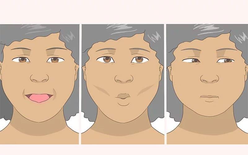 یوگا صورت از بهترین روشهای سفت شدن پوست صورت