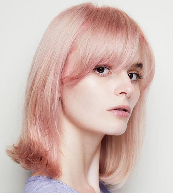 رنگ مو مرواریدی مناسب برای تابستان