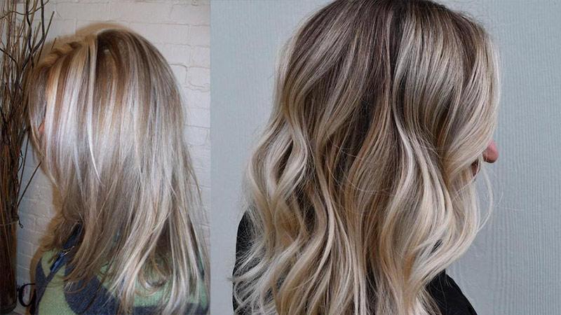 لایت کردن مو